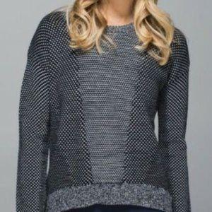 lululemon athletica Yogi Crew Sweater